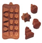 Tree star chocolate mouldWH0631