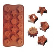 star chocolate mouldWH0652