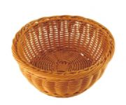 Round rattan basket (brown)WH6542